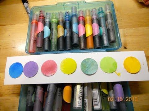 Color Sprays Using Printer Inks