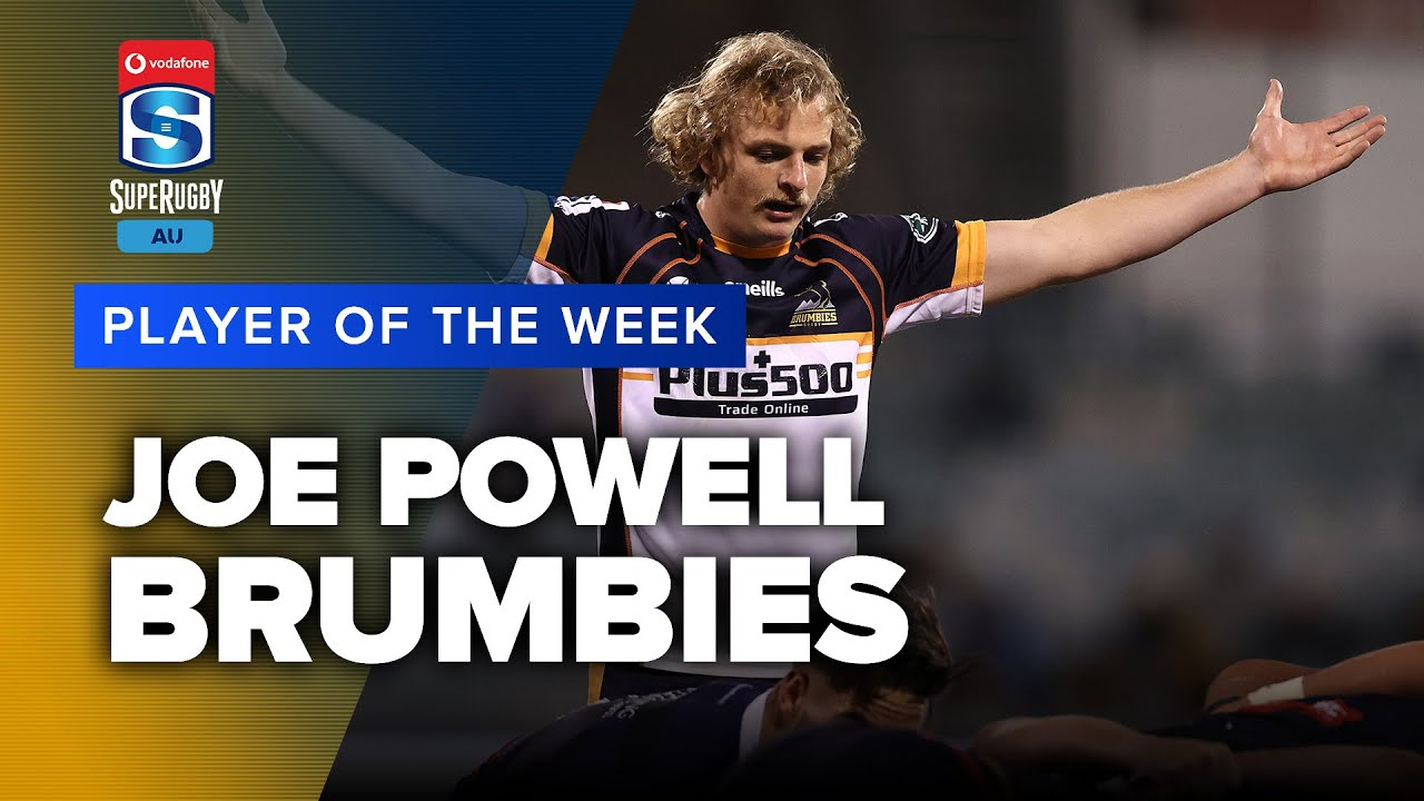 PLAYER OF THE WEEK | Super Rugby AU Rd 1