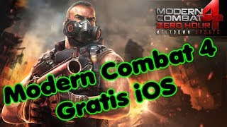 Modern Combat 4 Gratis iOS