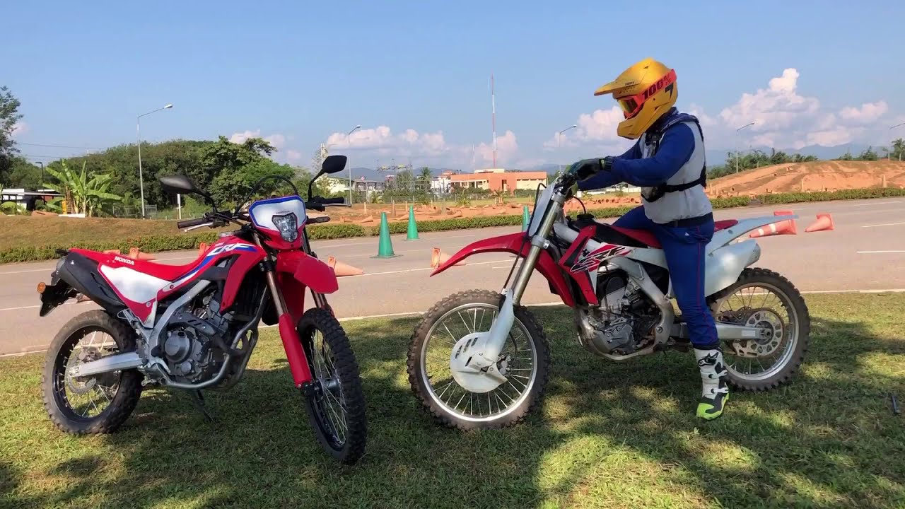 Download CRF 300L Vs CRF 250R