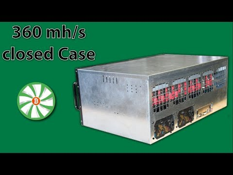 360 Mh Ethereum Mining Rig In Closed Case..?