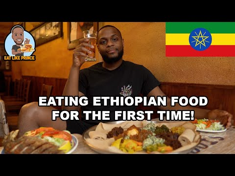 EATING ETHIOPIAN FOOD FOR THE FIRST TIME! 🇪🇹 | Eat Like Prince EP. 9