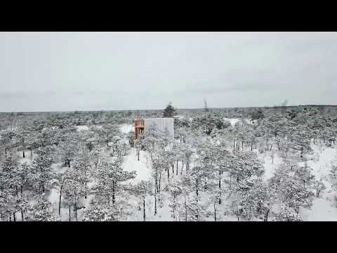 Observation tower TREPP in Tuhu bog, Estonia - EKA sisearhitektuur + RMK