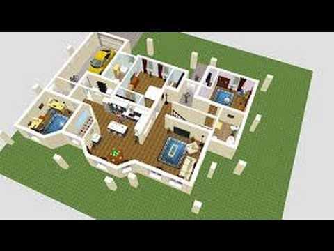 tutorial grundriss in sweethome 3d einf gen doovi. Black Bedroom Furniture Sets. Home Design Ideas