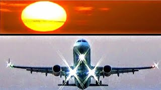 SKIATHOS AIRPORT SUNSET TAKEOFF! Thomas Cook A321 Takeoff, rnw 20 | ATC Comms