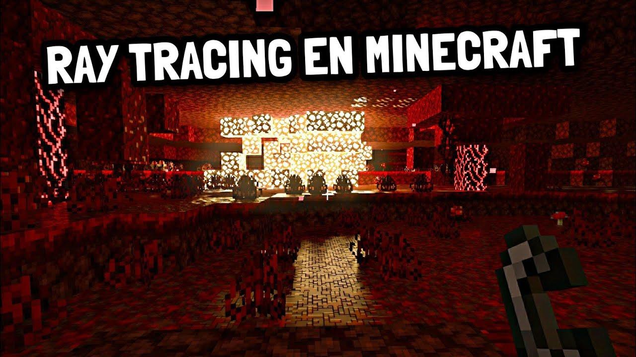 Así se ve Minecraft Survival con Ray Tracing (RTX)