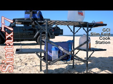GCI Slim Fold Cook Station - Make Your Vehicle Adventure Ready