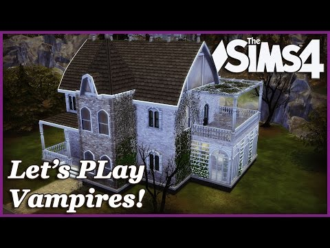 The Sims 4 - Lets play Vampires! |Mini Renovation! Realtime (Part 5)