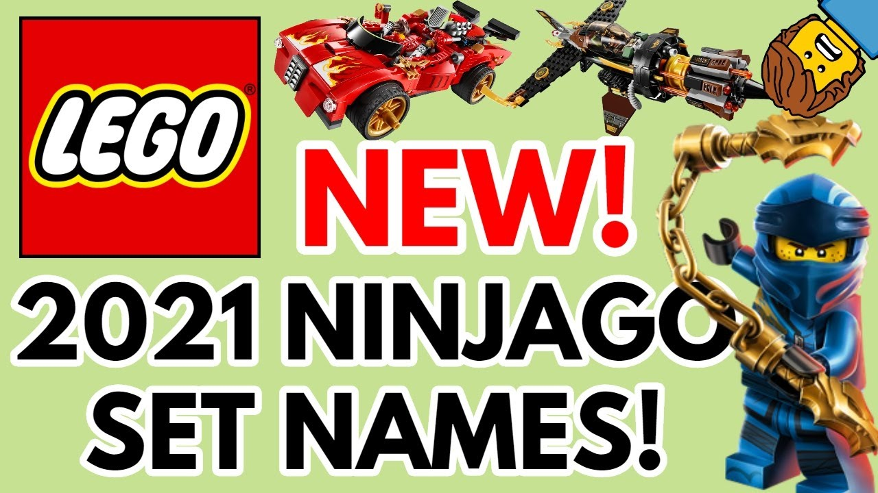 NEW Lego Ninjago 2021 Set Names+Info! (Legacy & Season 14 ...