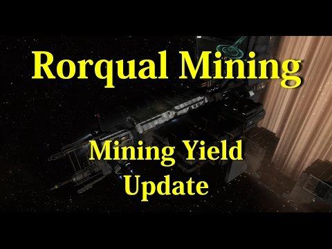 Rorqual Mining Yield Update - EVE Online