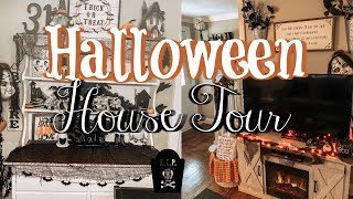 HALLOWEEN HOME DECOR TOUR 2019 | SPOOKY HALLOWEEN DECOR | FARMHOUSE HALLOWEEN DECOR