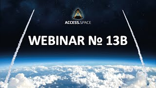 Webinar 13B – Key Technologies for High Power Space Missions