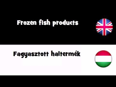 TRANSLATE IN 20 LANGUAGES = Frozen fish products