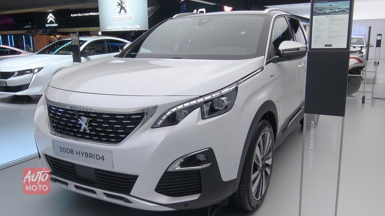 2019 Peugeot 3008 Hybrid 4 Suv Exterior And Interior 2019 Geneva Motor Show