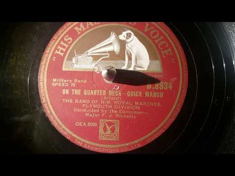 band of h.m royal marines - on the quarter deck