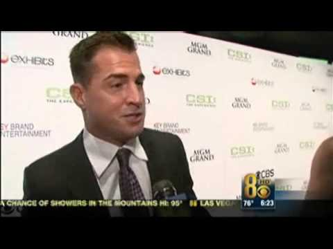 George Eads At The CSI Experience