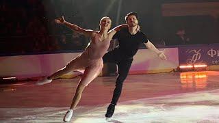 Александра Степанова Иван Букин Внеорбитные 14 04 2021 Шоу Чемпионы на льду Санкт Петербург