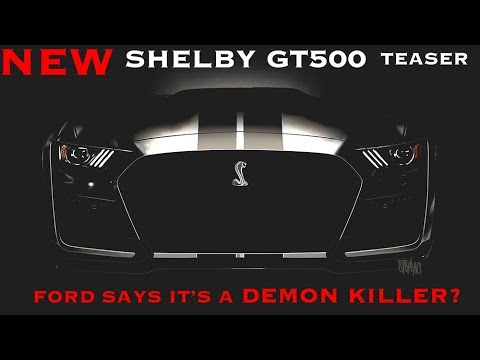New  Shelby GT  and  Ford Bronco Teased!