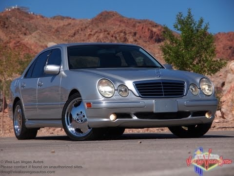 2002 mercedes e55 amg doovi. Black Bedroom Furniture Sets. Home Design Ideas