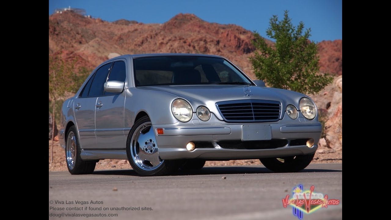 2003 mercedes benz e55 amg test drive viva las vegas for Mercedes benz e 55 amg
