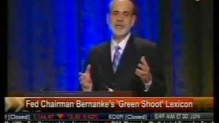Fed Chairman Benanke's 'Green Shoot' Lexicon - Bloomberg