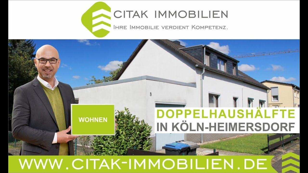 Citak Immobilien doppelhaushälfte in köln heimersdorf citak immobilien im kölner