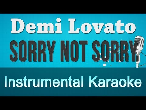 Demi Lovato - Sorry Not Sorry Instrumental...