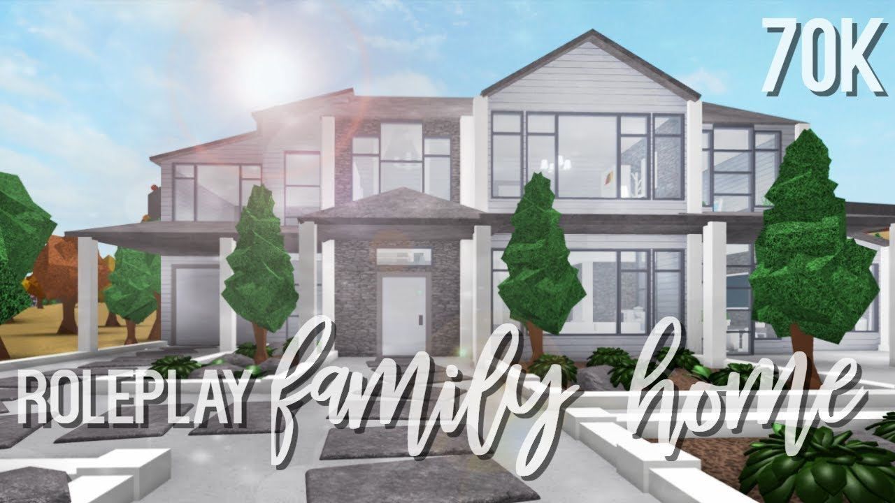 Bloxburg: Roleplay Family Home
