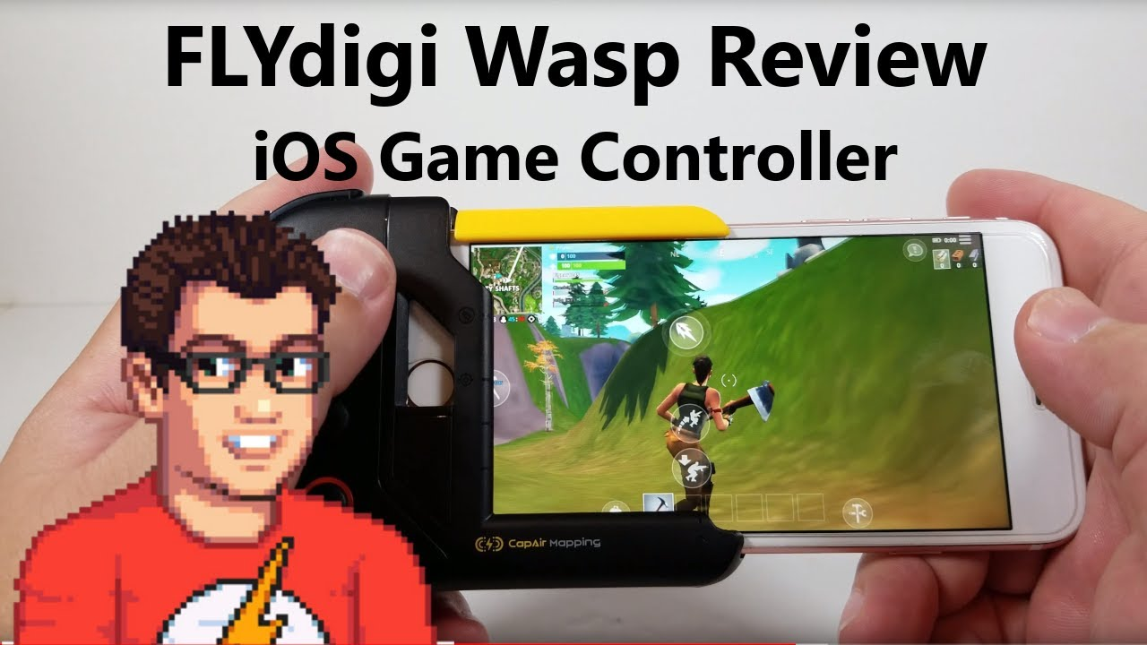 Flydigi Wasp Review - iOS Game Controller (Genuinely Cool Tech)