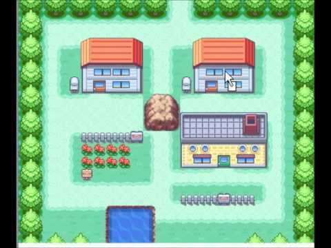 Hacking Pokemon Fire Red 1 Making A Map Youtube