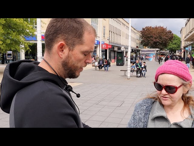 Woman hears the gospel and repents in Bristol, England