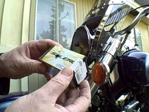 hqdefault how to replace a headlight bulb on a v star 650 classic youtube  at bayanpartner.co