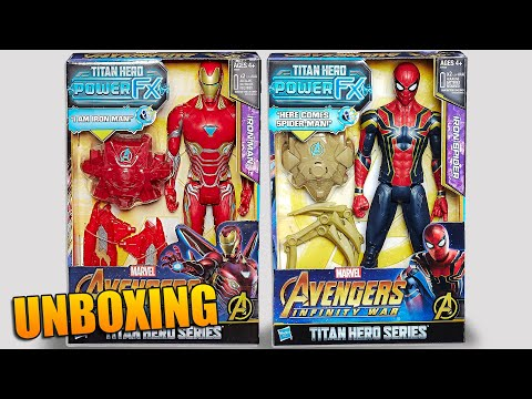 Titan Hero Avengers Infinity War Power FX Spiderman Ironman y Doctor Strange