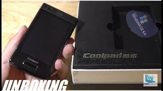 Unboxing: CoolPad N900 - Windows CE Smartphone?!