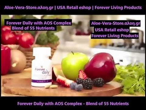 Forever Daily with AOS Complex - Blend of 55 Nutrients