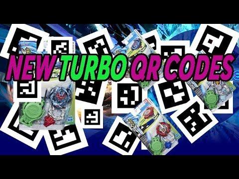 ALL 21 TURBO QR CODES BEYBLADE BURST TURBO
