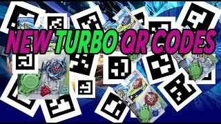 НОВЫЕ КОДЫ ТУРБО TURBO QR CODES BEYBLADE BURST