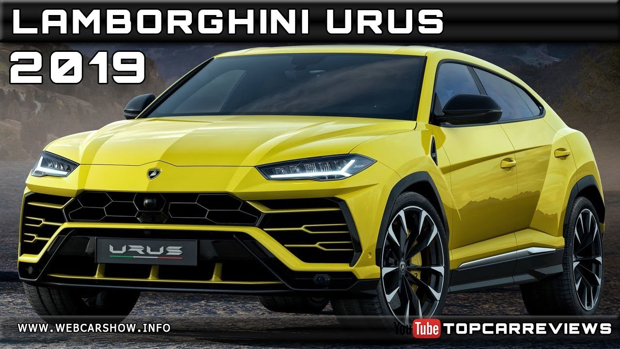 2019 Lamborghini Urus Review Rendered Price Specs Release Date Youtube