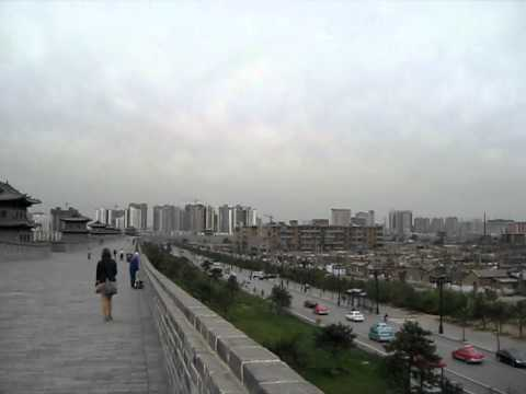 New city wall @ Datong, China.