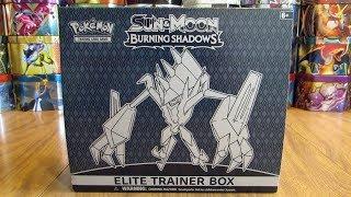 Burning Shadows Elite Trainer Box Opening