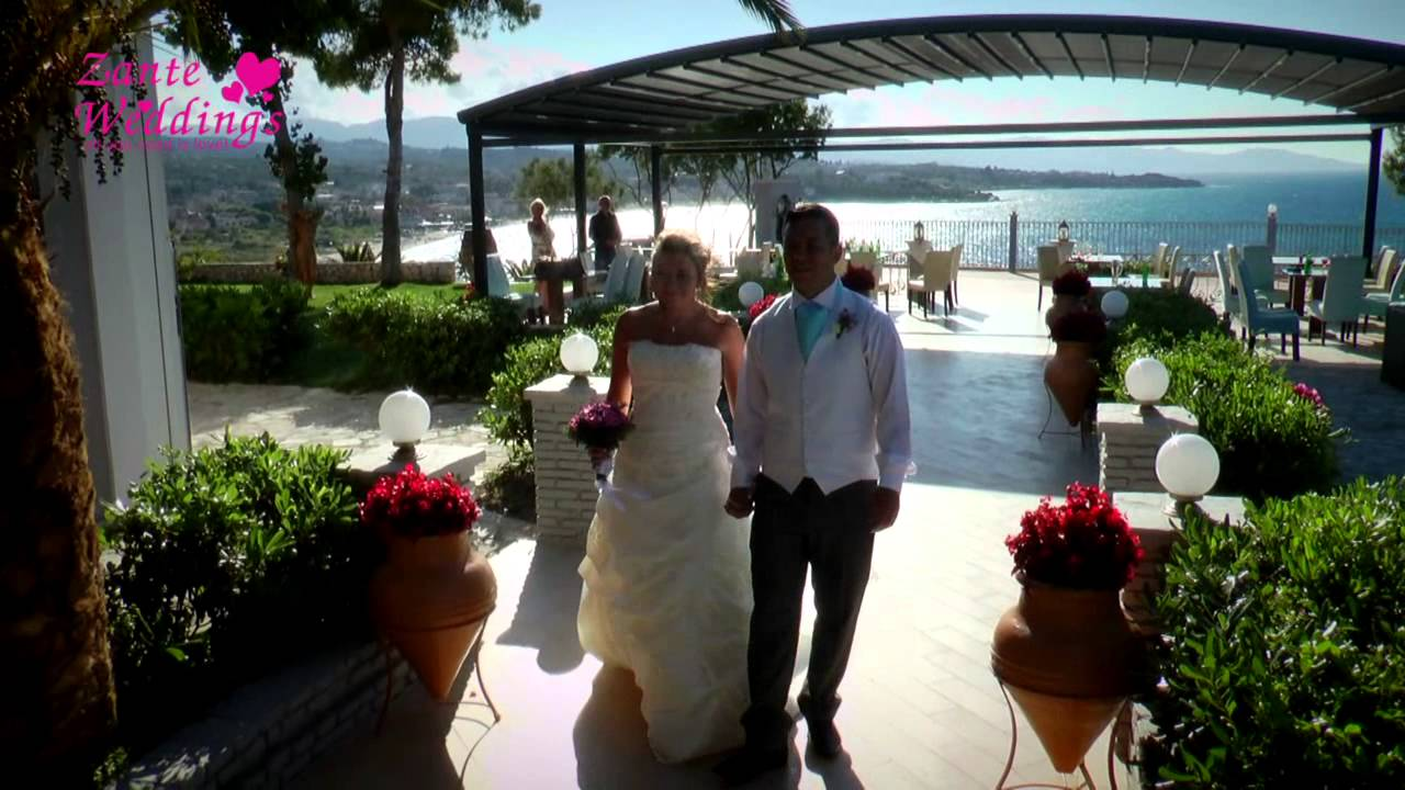 Balcony debbie michael zante weddings by tsilivi for The balcony zante