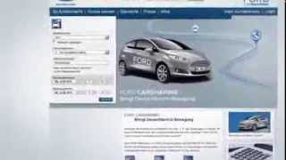 Ford Carsharing Die Buchung