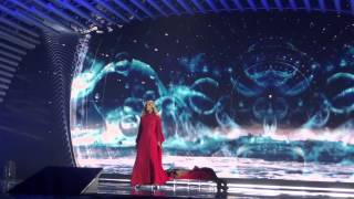ESCKAZ in Vienna: Edurne (Spain) - Amanecer (Final dress rehearsal)