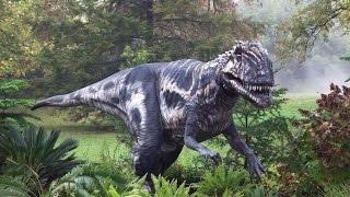 Самые крупые и опасные хищники юрского периода. Охота на цератозавра.