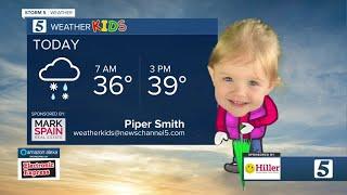 Weather Kids: Wednesday, January 27, 2021