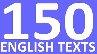 150 ENGLISH TEXTS. LISTENING ENGLISH PRACTICE. Intermediate En…