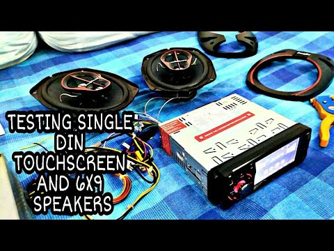 New Car Stereo And Speakers Testing