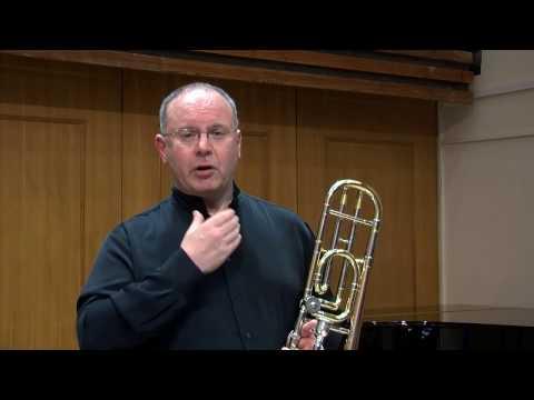 Improve lower register on trombone with body resonance & false harmonics