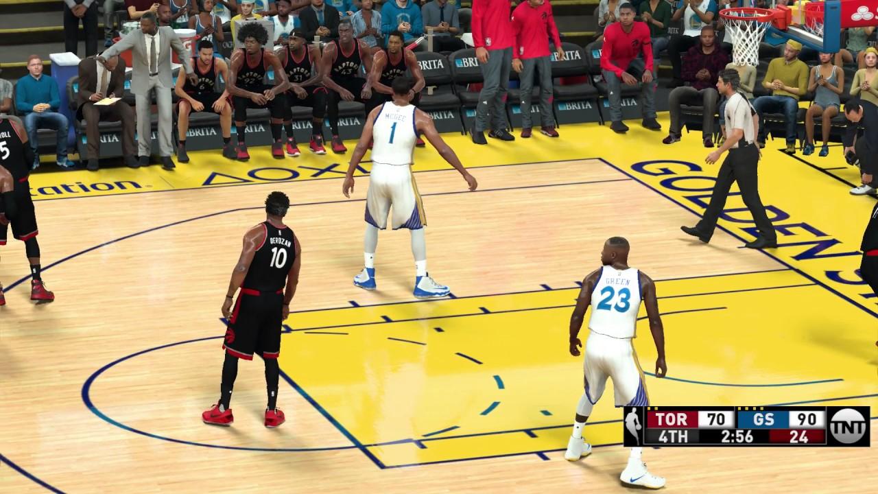 NBA 2K17 PC MOD│ Raptors vs Warriors │TNT PC MOD w/Download Link - YouTube