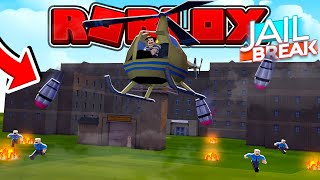 ROBLOX - JAIL BREAK HELI BOMBS!